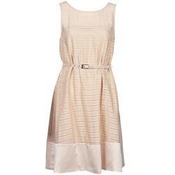 textil Dam Korta klänningar Manoukian 613374 Beige