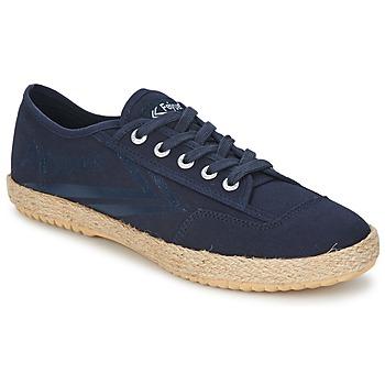 Skor Sneakers Feiyue FELO PLAIN Blå / Vit