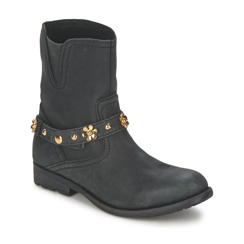 Skor Dam Boots Moschino Cheap & CHIC CA21013G1ZCE Svart