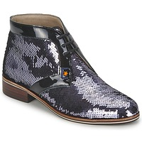 Skor Dam Boots C.Petula PEGASE Silverfärgad
