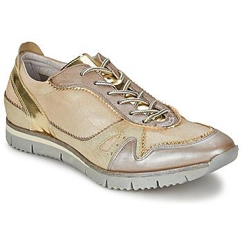 Skor Dam Sneakers Manas  Guldfärgad