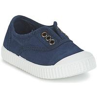 Skor Barn Sneakers Victoria INGLESA LONA TINTADA Marin