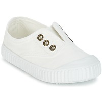 Skor Barn Sneakers Victoria INGLESA LONA TINTADA Vit