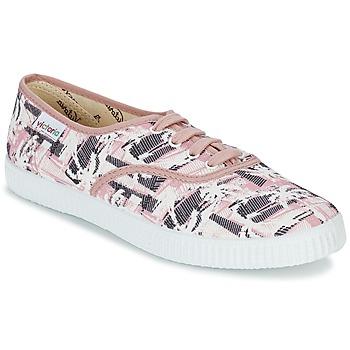 Skor Dam Sneakers Victoria INGLES PALMERAS Rosa