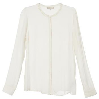 textil Dam Skjortor / Blusar Cream PANSY Benvit
