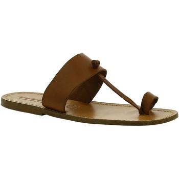 Skor Dam Boots Gianluca - L'artigiano Del Cuoio 554 U CUOIO CUOIO Cuoio