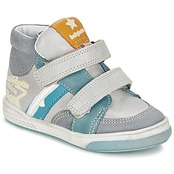 Skor Pojk Höga sneakers Babybotte APPOLON Grå
