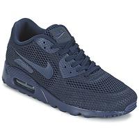 Skor Herr Sneakers Nike AIR MAX 90 ULTRA BREATHE Blå