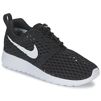 Skor Pojk Sneakers Nike ROSHE ONE FLIGHT WEIGHT BREATHE JUNIOR Svart