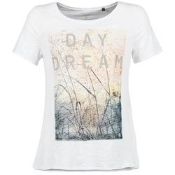 textil Dam T-shirts Marc O'Polo MOFRAGO Vit