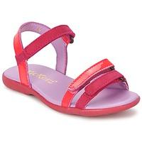 Skor Flick Sandaler Kickers ARCENCIEL FUCHSIA / Rosa / Neon