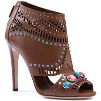 Skor Dam Sandaler Gucci 371057 A3N00 2548 marrone