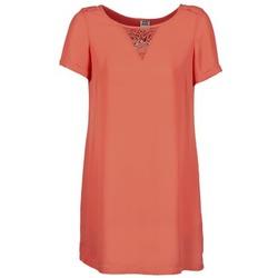 textil Dam Korta klänningar Vero Moda TRIPPA Korall