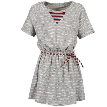 textil Dam Korta klänningar Manoush ETNIC Grå