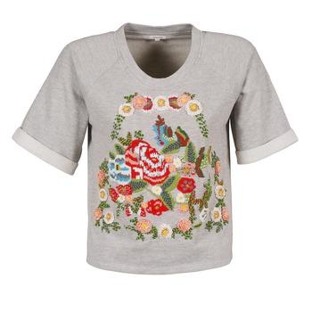 textil Dam T-shirts Manoush GIPSY Grå