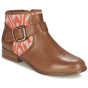Skor Dam Boots Mellow Yellow VABEL Brun / Orange