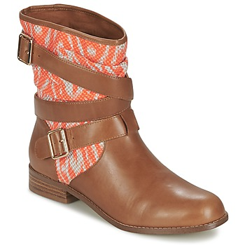 Skor Dam Boots Mellow Yellow VABELO Brun / Orange