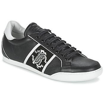 Skor Herr Sneakers Roberto Cavalli 7779 Svart