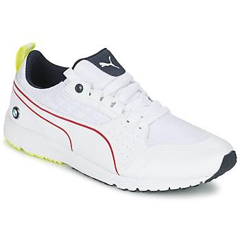 Skor Herr Sneakers Puma BMW MS PITLANE Vit / Gul