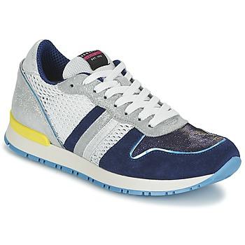 Skor Dam Sneakers Serafini LOS ANGELES Blå / Vit
