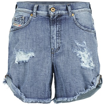 textil Dam Shorts / Bermudas Diesel DE SCOTT Blå