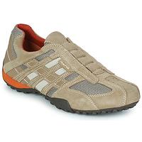 Skor Herr Sneakers Geox SNAKE Beige