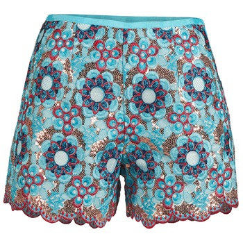 textil Dam Shorts / Bermudas Manoush FRESQUE Blå