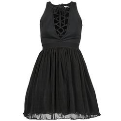 textil Dam Korta klänningar Manoush MARILACET Svart