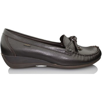 Skor Dam Loafers CallagHan AVE MOCASIN ABU W MARRON