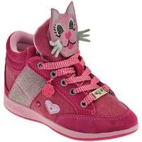 Skor Barn Höga sneakers Lelli Kelly Gattino Rosa