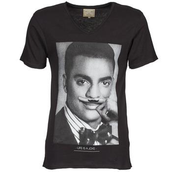 textil Herr T-shirts Eleven Paris MARLTON M Svart