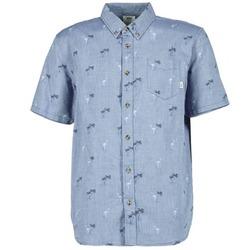 textil Herr Kortärmade skjortor Vans HOUSER SS Blå