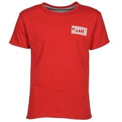 textil Herr T-shirts Wati B WATI CREW Röd
