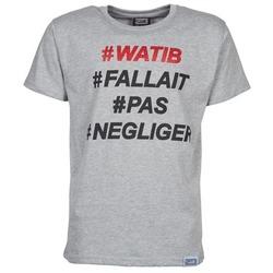 textil Herr T-shirts Wati B NEGLIGER Grå