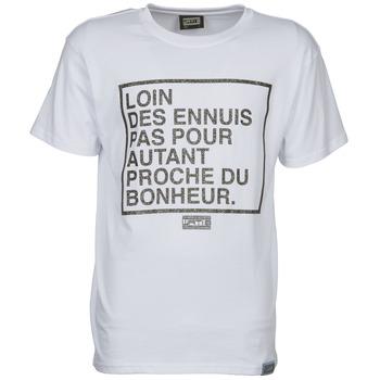 textil Herr T-shirts Wati B LOIN Vit