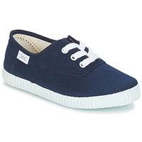 Skor Barn Sneakers Citrouille et Compagnie KIPPI BOU Marin