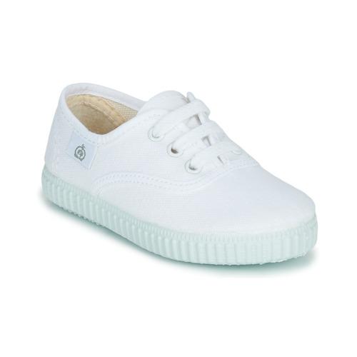 Skor Barn Sneakers Citrouille et Compagnie KIPPI BOU Vit