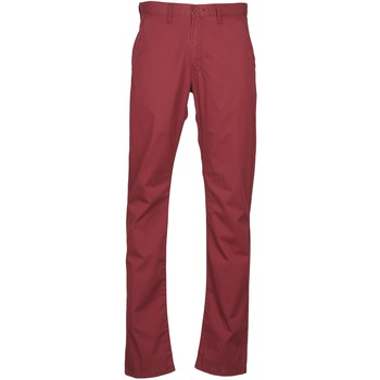 textil Herr Chinos / Carrot jeans Lee CHINO OXBLOOD Röd
