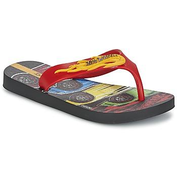 Skor Pojk Flip-flops Ipanema HOT WHEELS TYRE Röd / Svart