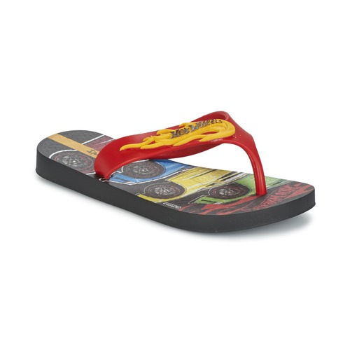 Skor Pojkar Flip-flops Ipanema HOT WHEELS TYRE Röd / Svart