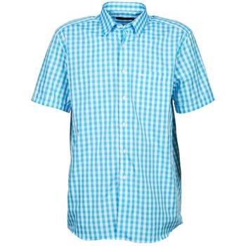 textil Herr Kortärmade skjortor Pierre Cardin 539236202-140 Blå