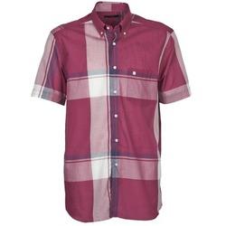 textil Herr Kortärmade skjortor Pierre Cardin 538536226-860 Lila / Violett