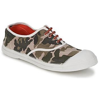 Skor Dam Sneakers Bensimon TENNIS CAMOFLUO Kamouflage