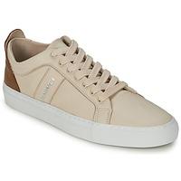 Skor Dam Sneakers Bensimon BICOLOR FLEXYS Beige