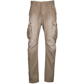 textil Herr Cargobyxor Freeman T.Porter PUNACHO COTTON GAB CHOCOLATE CHIP Brun / Beige