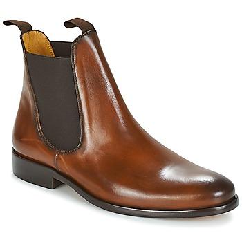 Skor Herr Boots Brett & Sons BERNARD Cognac