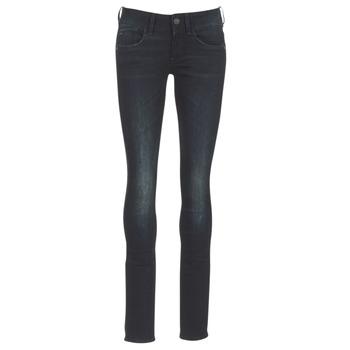 textil Dam Skinny Jeans G-Star Raw LYNN MID SKINNY Denim