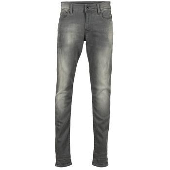 textil Herr Skinny Jeans G-Star Raw REVEND SUPER SLIM Grå