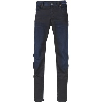 textil Herr Stuprörsjeans G-Star Raw 3301 SLIM Mörk / Slander / Super / Stretch / Denim