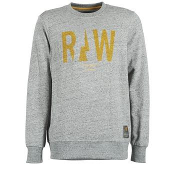 textil Herr Sweatshirts G-Star Raw RIGHTREGE R SW L/S Grå